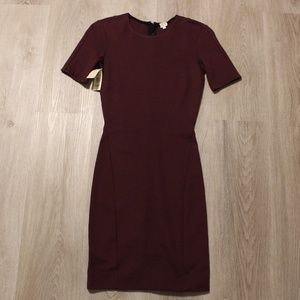 Wilfred Mignonne Dress in Burgundy